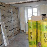 platrerie en construction près de Lyon